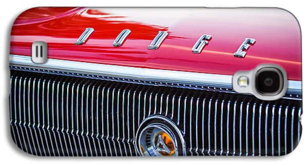 1966 Dodge Charger Grille Emblem Galaxy S4 Case by Jill Reger