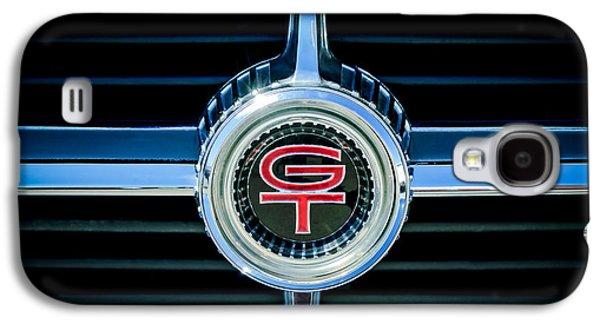 1966 Ford Fairlane Gt Grille Emblem Galaxy S4 Case by Jill Reger