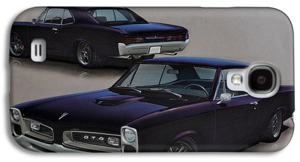 1966 Pontiac Gto Galaxy S4 Case by Paul Kuras