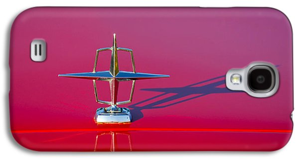 1967 Lincoln Continental Hood Ornament -158c Galaxy S4 Case by Jill Reger