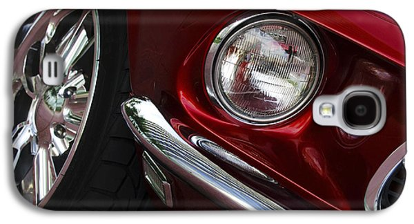 1969 Ford Mustang Mach 1 Front Galaxy S4 Case by Jill Reger