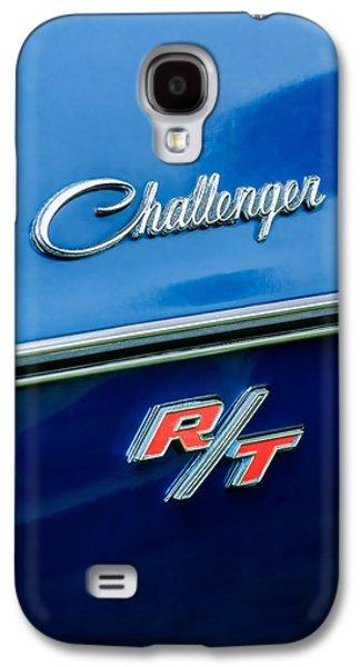 1970 Dodge Challenger Rt Convertible Emblem Galaxy S4 Case by Jill Reger