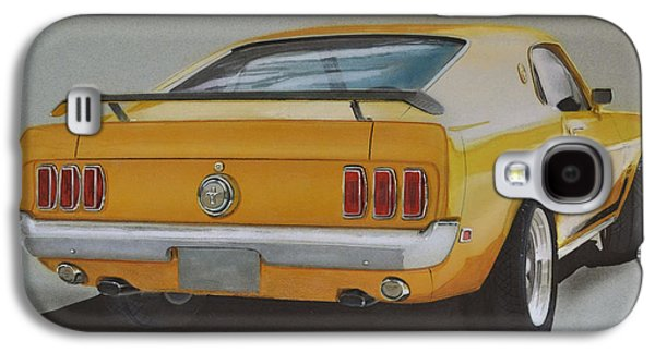 1970 Mustang Fastback Galaxy S4 Case by Paul Kuras