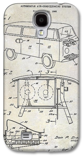 1970 Vw Patent Drawing Galaxy S4 Case