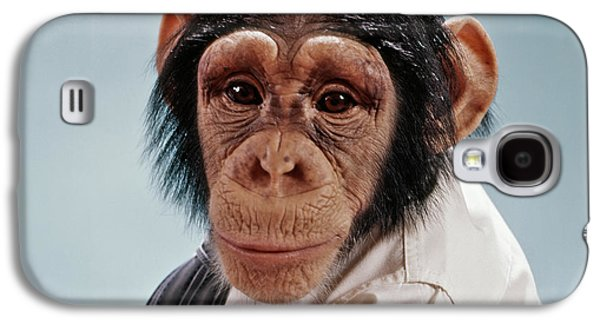 1970s Close-up Face Chimpanzee Looking Galaxy S4 Case