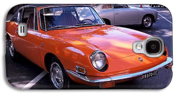 1971 Fiat 850 Spider By Bertone Galaxy S4 Case by Rona Black