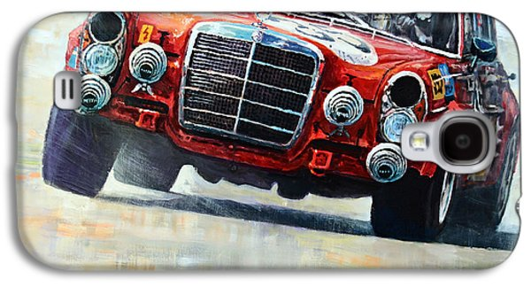 Pig Galaxy S4 Case - 1971 Mercedes-benz Amg 300sel by Yuriy Shevchuk
