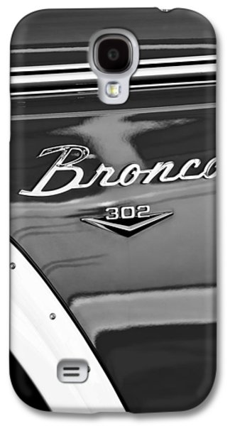 1972 Ford Bronco Emblem Galaxy S4 Case by Jill Reger