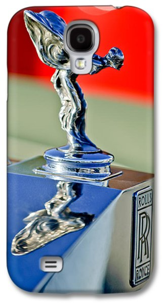 1976 Rolls Royce Silver Shadow Hood Ornament Galaxy S4 Case by Jill Reger