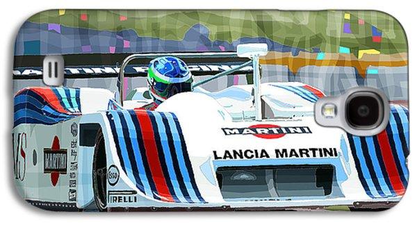 1982 Lancia Lc1 Martini Galaxy S4 Case by Yuriy  Shevchuk