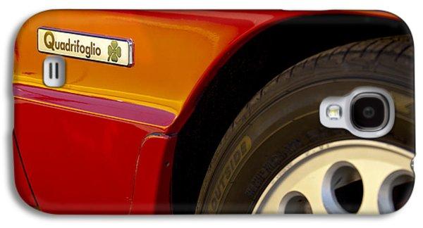 1988 Alfa Romeo Spider Quad Emblem Galaxy S4 Case by Jill Reger