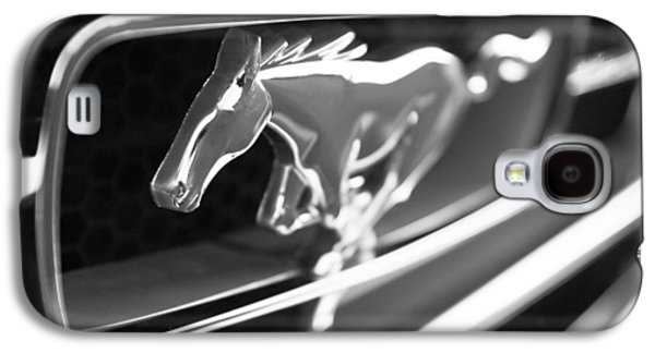 1965 Shelby Prototype Ford Mustang Grille Emblem Galaxy S4 Case by Jill Reger