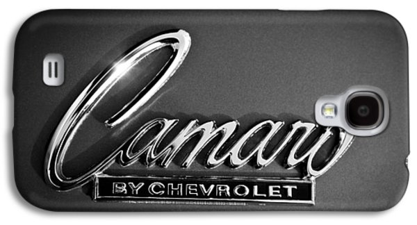 1969 Chevrolet Camaro Emblem Galaxy S4 Case by Jill Reger
