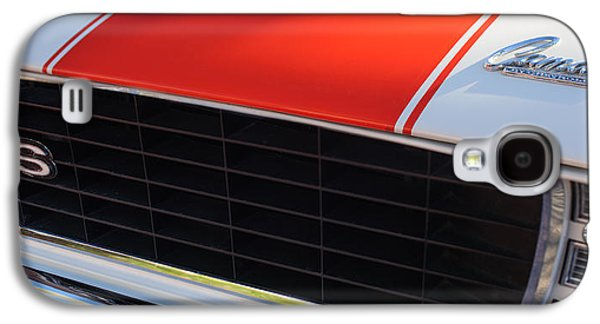 96 Inch Panoramic -1969 Chevrolet Camaro Rs-ss Indy Pace Car Replica Grille - Hood Emblems Galaxy S4 Case by Jill Reger