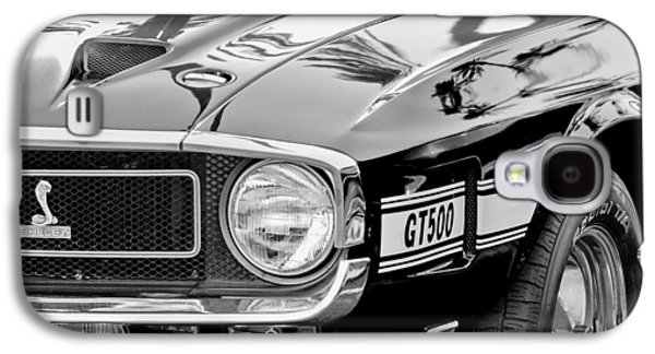 1969 Shelby Cobra Gt500 Front End - Grille Emblem Galaxy S4 Case by Jill Reger