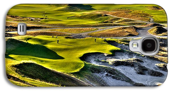 #9 At Chambers Bay Golf Course Galaxy S4 Case by David Patterson