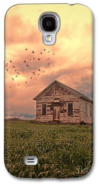 Abandoned Building In A Storm Galaxy S4 Case by Jill Battaglia
