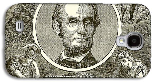 Abraham Lincoln Galaxy S4 Case by English School