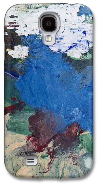 Acrylic Abstract Painting Galaxy S4 Case by Donald  Erickson