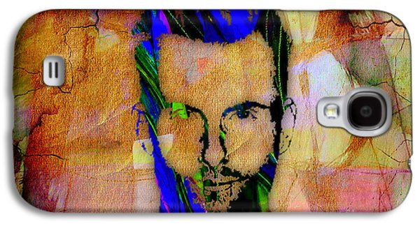 Adam Levine Painting Galaxy S4 Case by Marvin Blaine