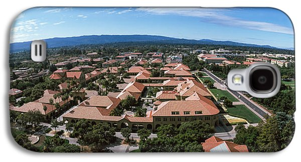 Aerial View Of Stanford University Galaxy S4 Case by Panoramic Images