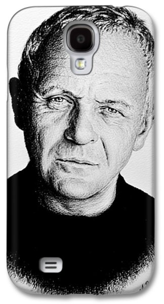 Anthony Hopkins  Galaxy S4 Case by Andrew Read