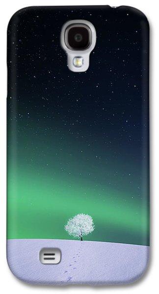 Apple Galaxy S4 Case by Bess Hamiti