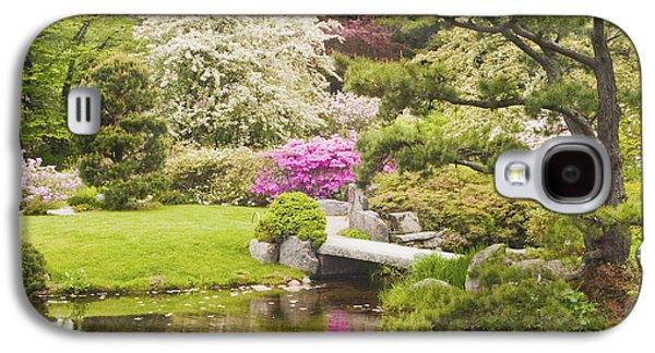 Asticou Azelea Garden - Northeast Harbor - Mount Desert Island - Maine Galaxy S4 Case by Keith Webber Jr