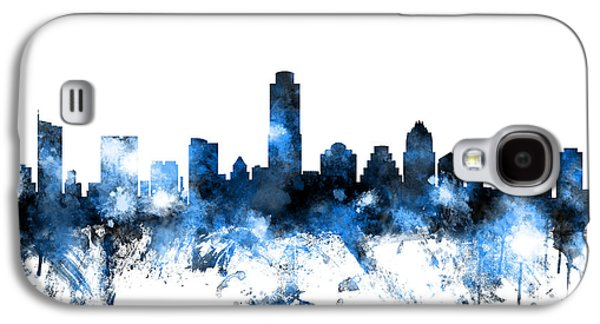 Austin Texas Skyline Galaxy S4 Case
