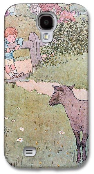Baa Baa Black Sheep Galaxy S4 Case by Leonard Leslie Brooke