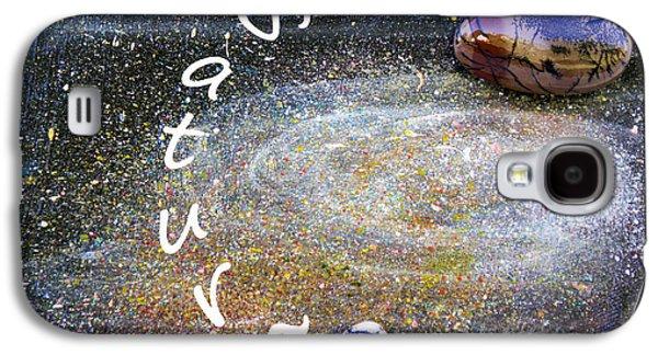 Barack Obama Saturn Galaxy S4 Case by Augusta Stylianou