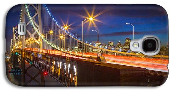 Bay Bridge Galaxy S4 Case by Inge Johnsson