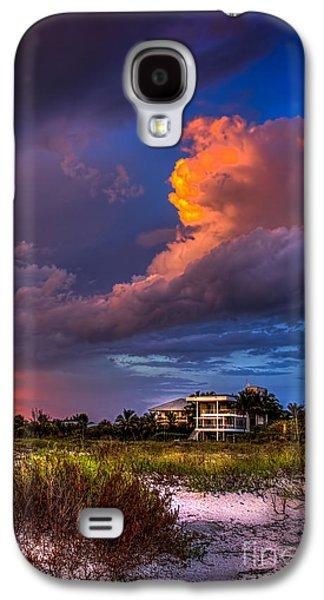 Beach Front Rain Galaxy S4 Case