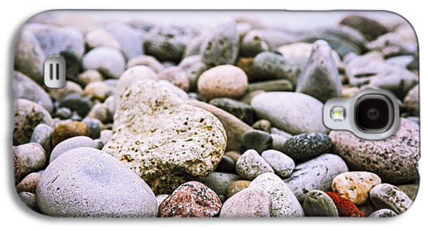 Beach Pebbles Galaxy S4 Case by Elena Elisseeva