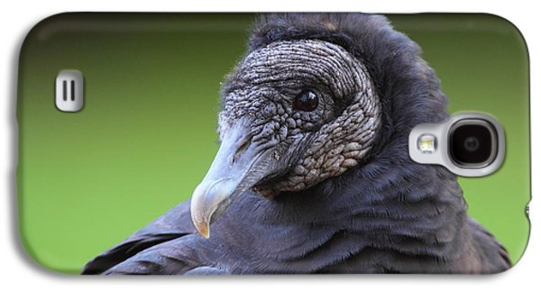 Black Vulture Portrait Galaxy S4 Case by Bruce J Robinson