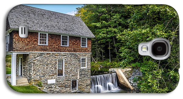 Blow Me Down Mill Cornish New Hampshire Galaxy S4 Case by Edward Fielding