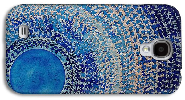 Blue Kachina Original Painting Galaxy S4 Case