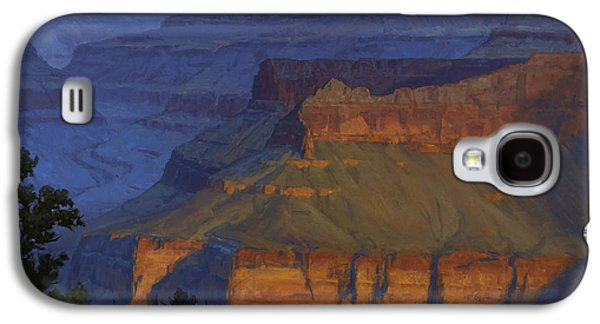 Grand Canyon Galaxy S4 Case - Blue Morning by Cody DeLong