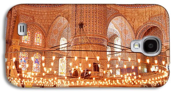 Blue Mosque, Istanbul, Turkey Galaxy S4 Case by Panoramic Images