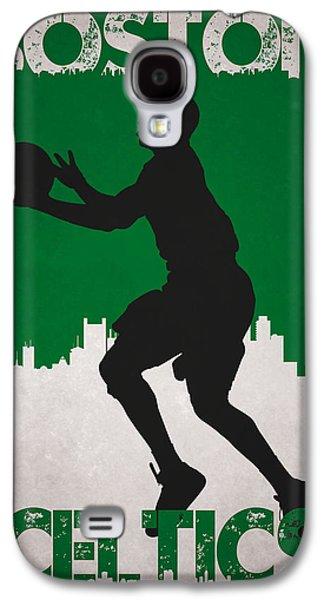 Boston Celtics Galaxy S4 Case by Joe Hamilton