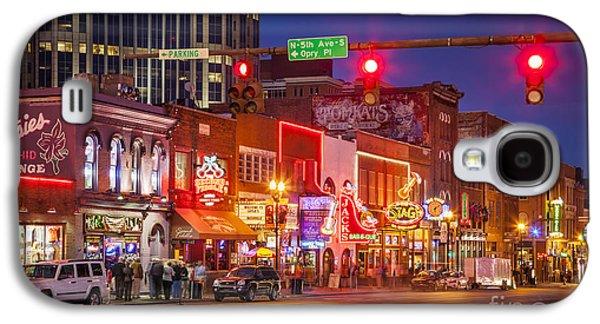 Broadway Street Nashville Galaxy S4 Case