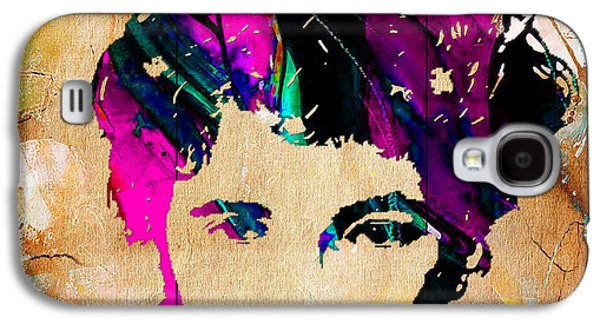 Bruce Springsteen Painting Galaxy S4 Case by Marvin Blaine