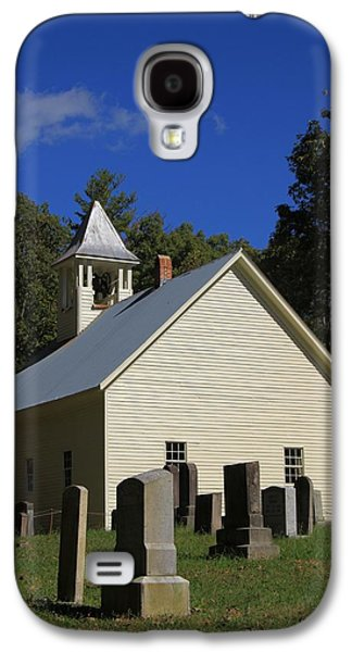 Cades Cove Primitive Baptist Church Galaxy S4 Case by Dan Sproul