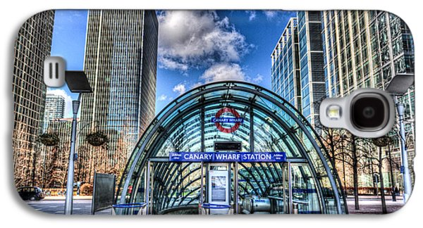 Canary Wharf Galaxy S4 Case by David Pyatt