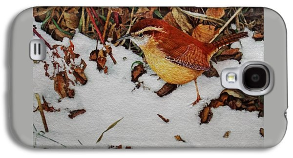 Wren Galaxy S4 Case - Carolina Wren by Ken Everett