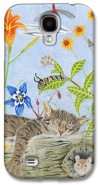Cat And Mouse Galaxy S4 Case by Gerald Strine