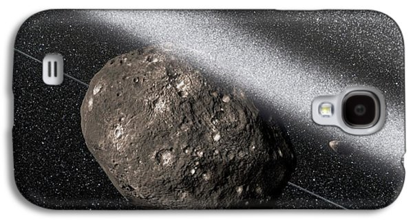 Chariklo Minor Planet And Rings Galaxy S4 Case by European Southern Observatory