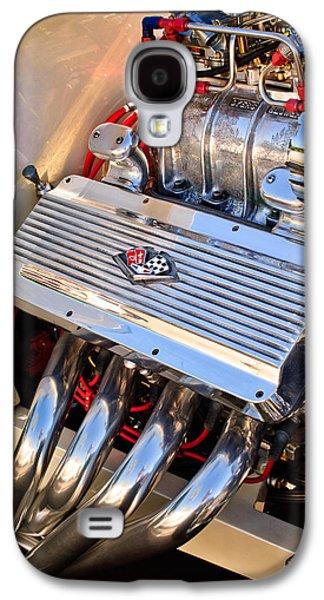 Chevrolet Corvette Engine Galaxy S4 Case by Jill Reger