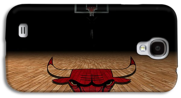 Chicago Bulls Galaxy S4 Case by Joe Hamilton