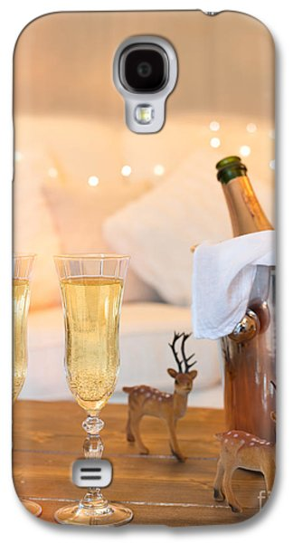 Christmas Champagne Galaxy S4 Case